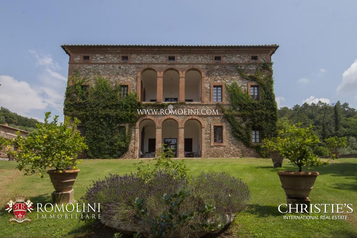 Villas Near Siena Italy tuscany - estate with manorial villa, vineyards and olive grove: a luxury  vineyard for sale in siena, siena property id:1065 | christie's