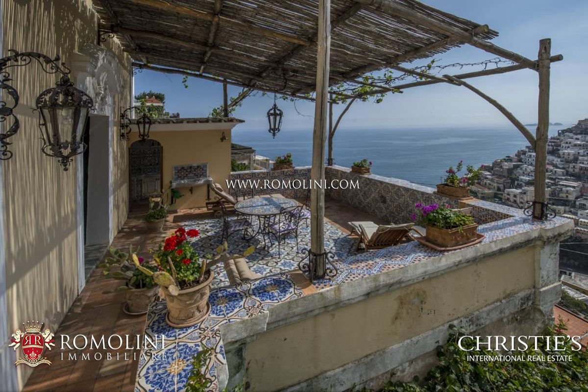 Apartments / Residences for Sale at Campania - 2-BEDROOM APARTMENT WITH SEA VIEW TERRACE IN POSITANO, AMALFI COAST Positano, Italy
