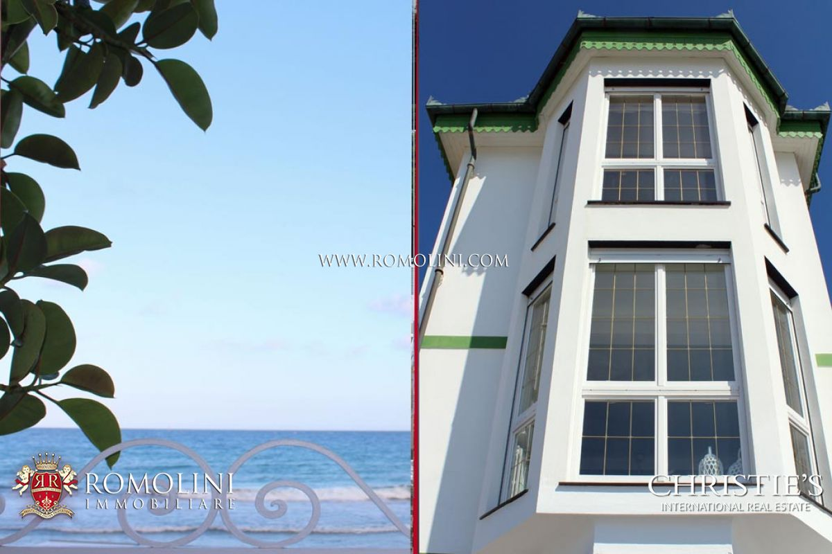 Additional photo for property listing at Liguria - BEACHFRONT 3-BEDROOM VILLA FOR SALE IN ALASSIO, LIGURIA Alassio, Itália