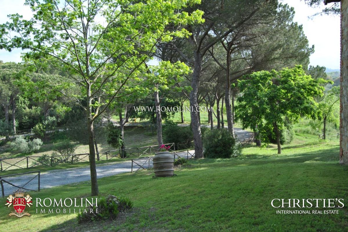 Additional photo for property listing at Tuscany - BUILDING PLOT WITH COUNTRY HOUSE, OLIVE GROVE, VINEYARD IN MAREMMA Maremma, Italien