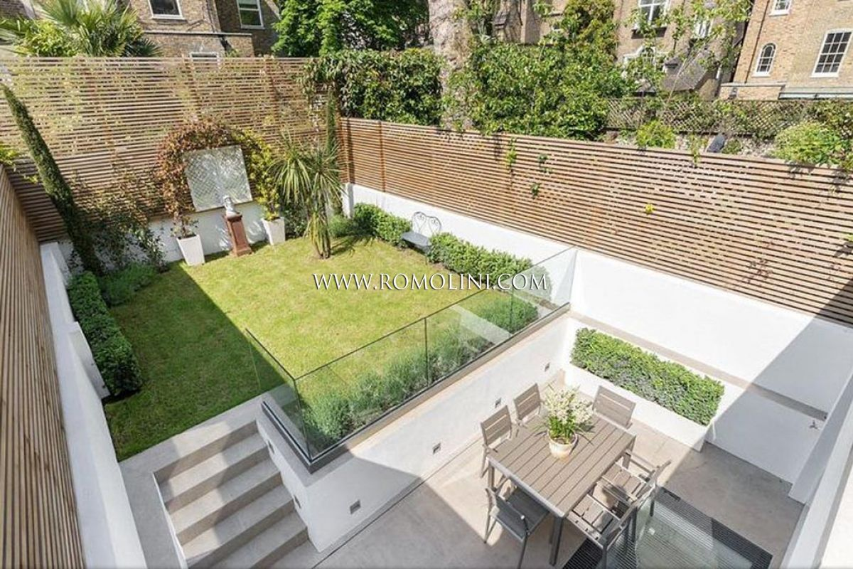 Casa in vendita a chelsea londra appartamento chelsea for Foto case con giardino