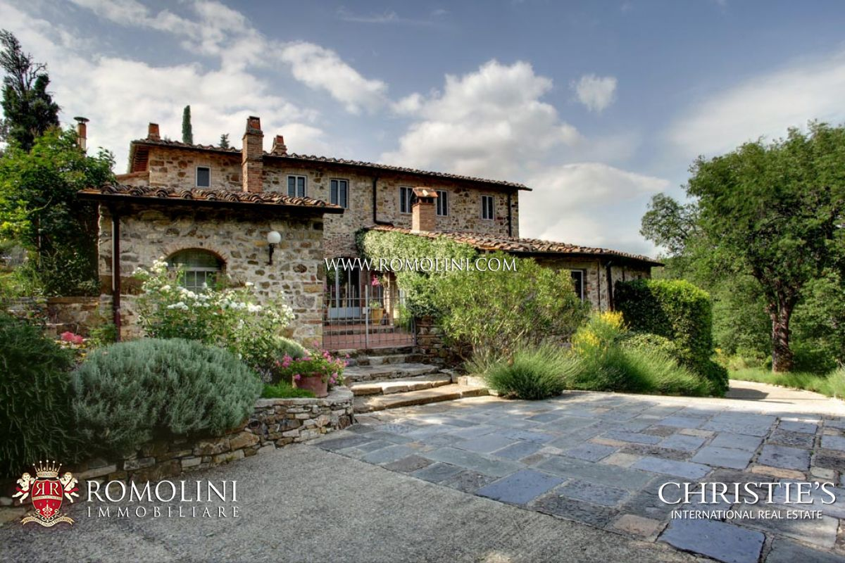 Image gallery homes in chianti italy for Houses in tuscany