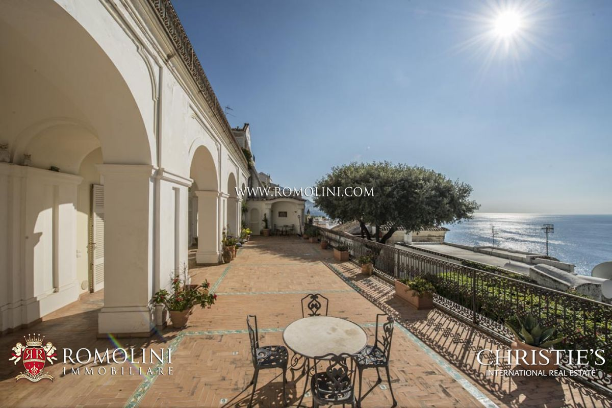 Apartments / Residences for Sale at Campania - 2-BEDROOM APARTMENT WITH GARAGE AND SEA VIEW TERRACE, POSITANO Positano, Italy