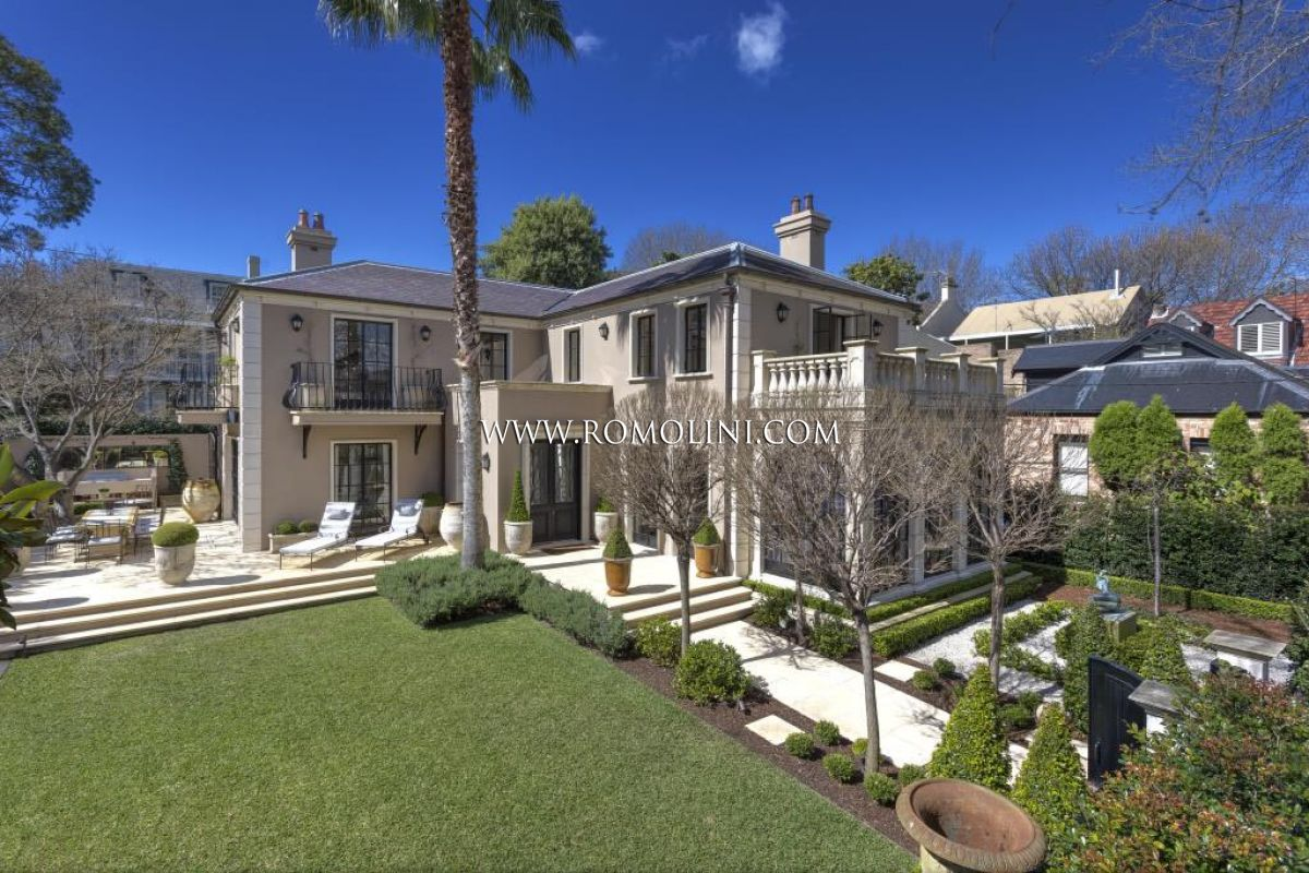 Woollahra villa villa di lusso in vendita sydney woollahra for Giardini ville moderne