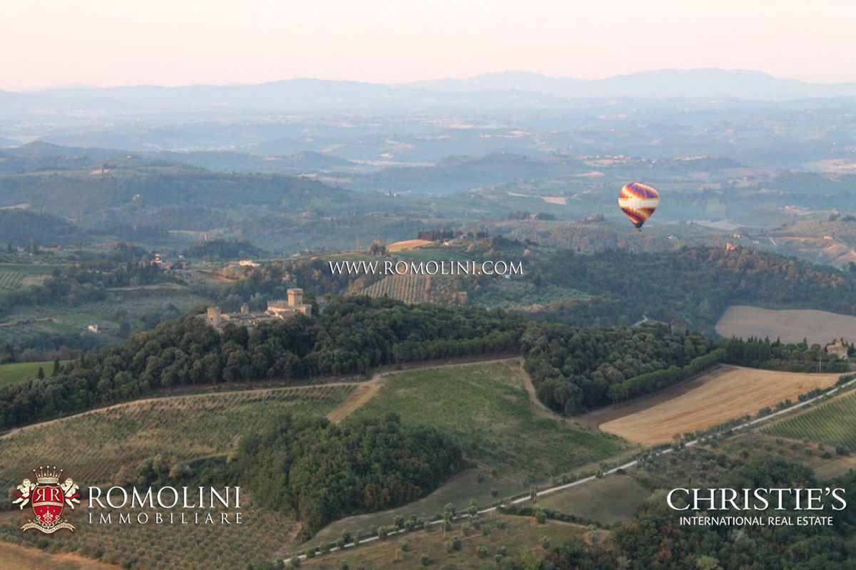 Additional photo for property listing at Tuscany - TUSCAN CASTLE FOR SALE IN CHIANTI, VINEYARDS, NEAR FLORENCE AND SIENA Firenze, Italia