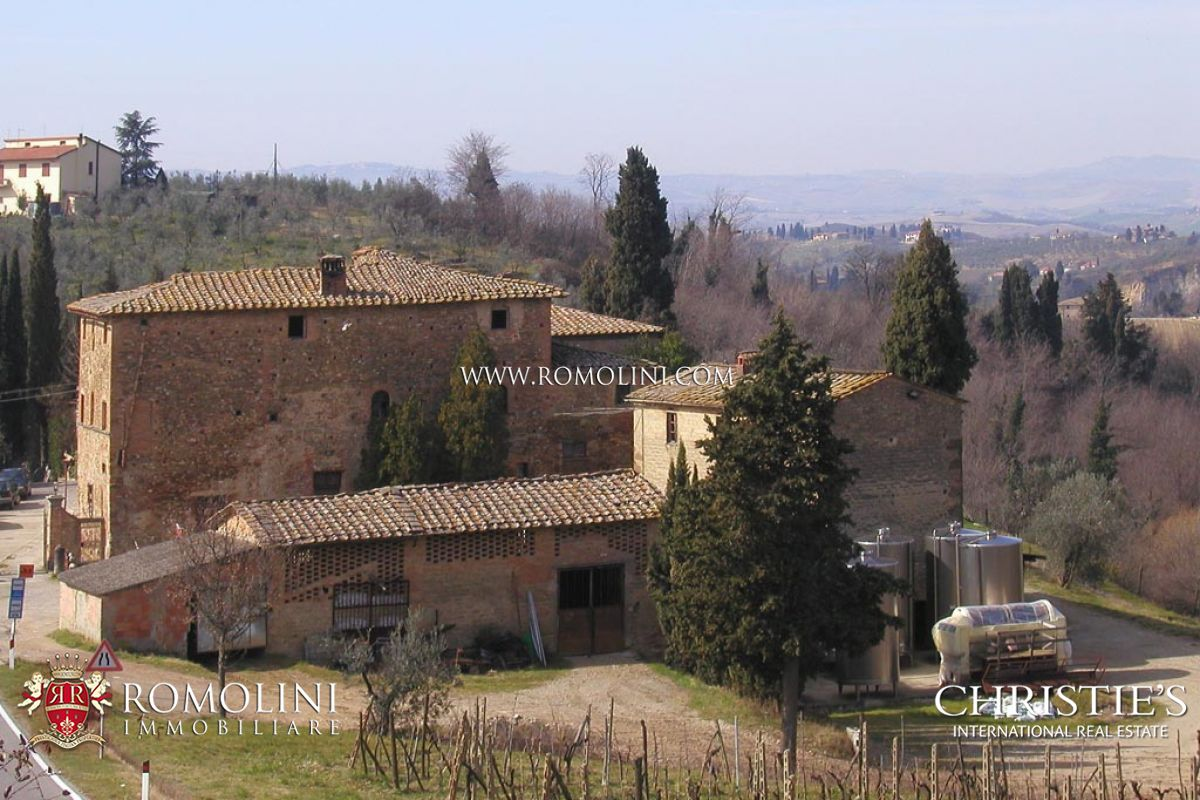 Additional photo for property listing at Tuscany - WINE AND OIL PRODUCING ESTATE FOR SALE CERTALDO Certaldo, Ιταλια