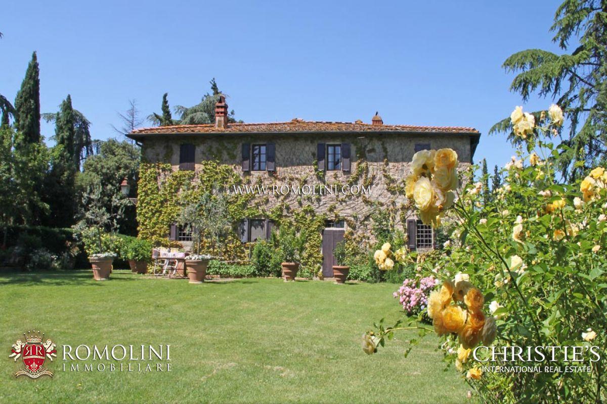 Ακίνητο για την Πώληση στο Tuscany - ESTATE, FARMHOUSES, 26 HECTARES OF LAND FOR SALE, VALDARNO Figline E Incisa Valdarno, Ιταλια