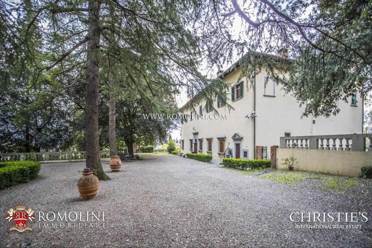 Vineyard for Sale at Tuscany - HISTORICAL VILLA FOR SALE CLOSE FLORENCE, AGRITURISMO Firenze, Italy