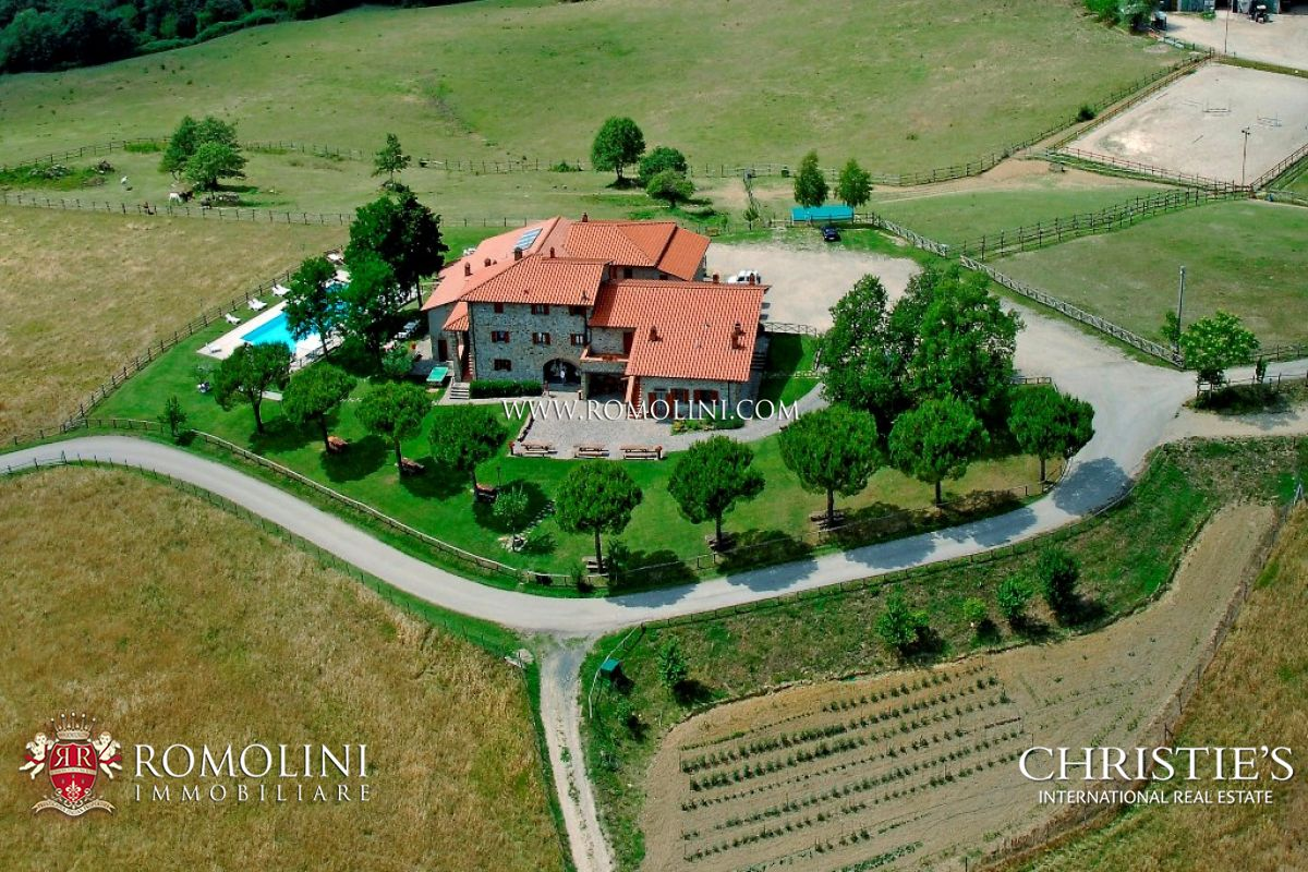 Поместье для того Продажа на Tuscany - ORGANIC FARM, COUNTRY HOUSE FOR SALE, CASENTINO Bibbiena, Италия