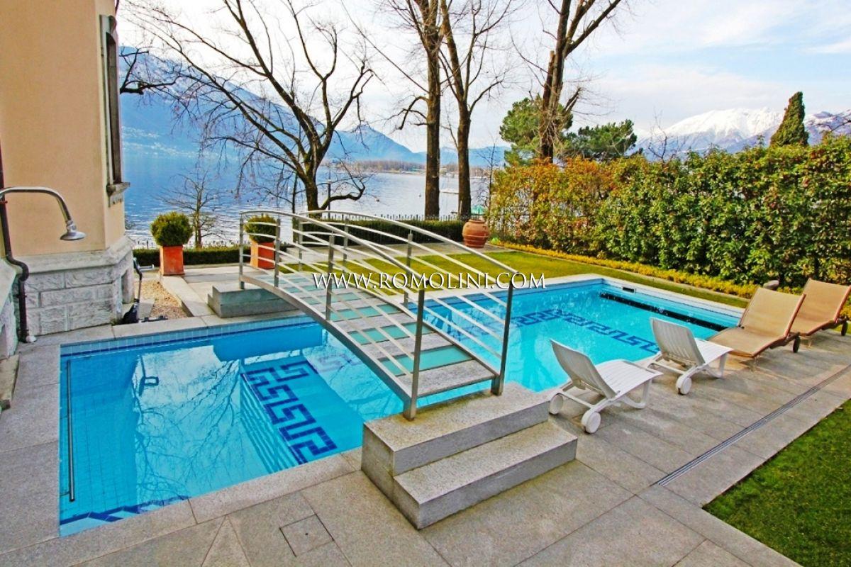Villa fronte lago con piscina in vendita locarno lago maggiore - Vendita villa con piscina genova ...