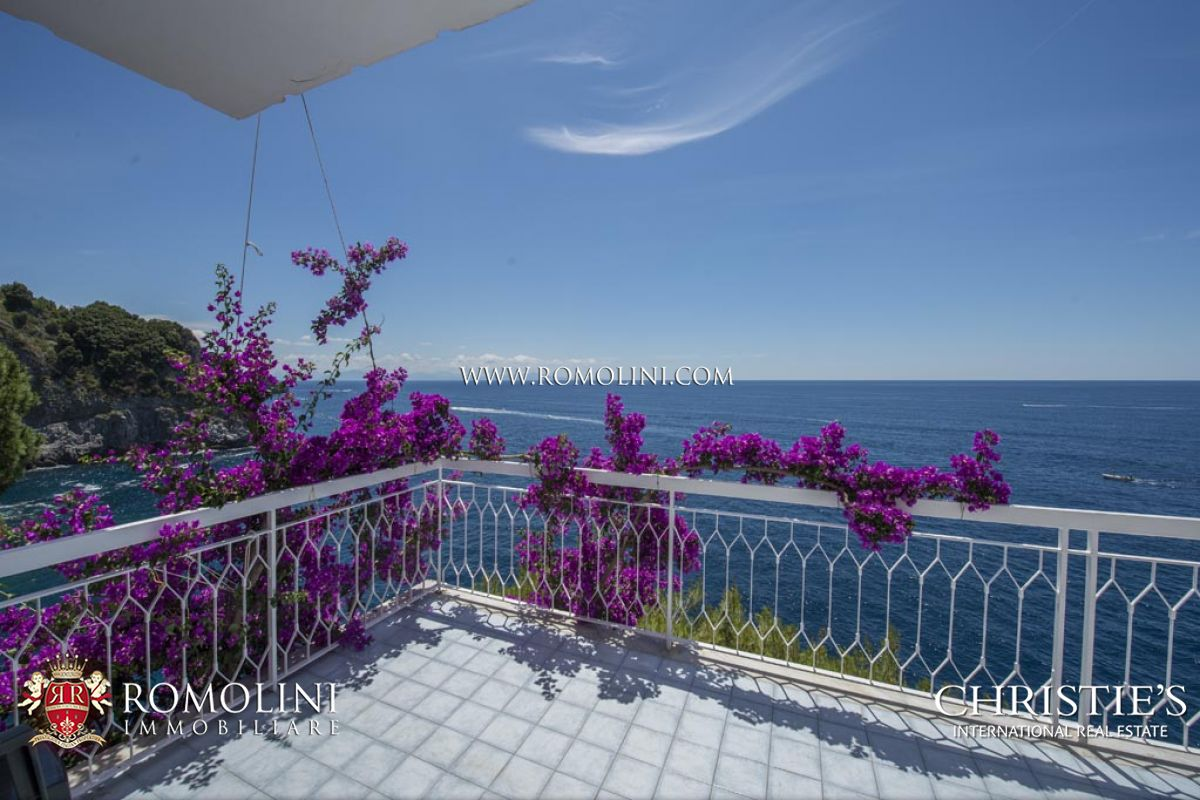 Villas / Townhouses for Sale at Campania - VILLA WITH ACCESS TO THE SEA FOR SALE AMALFI COAST Conca Dei Marini, Italy