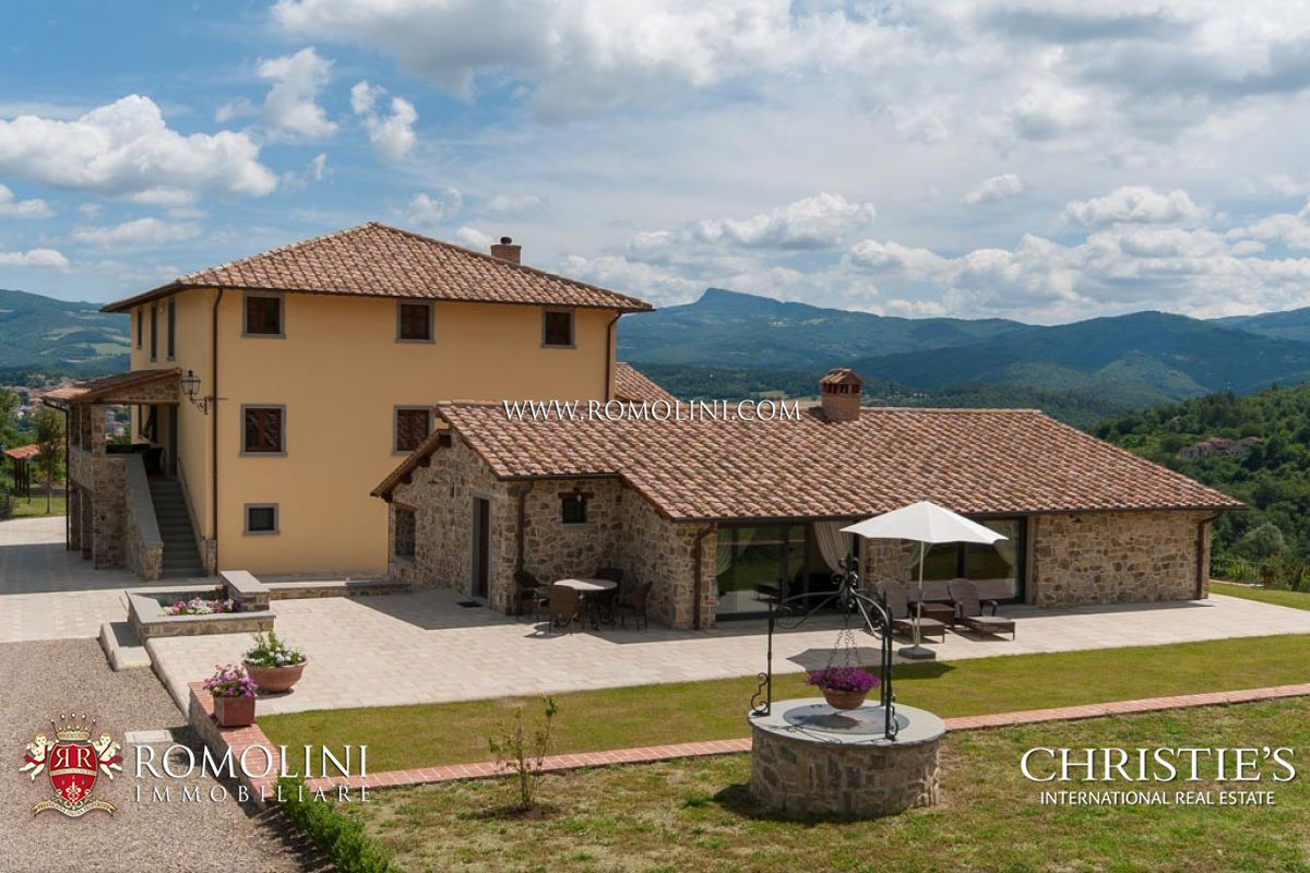 Tuscany Luxury Villas With Pool And Land For Sale In