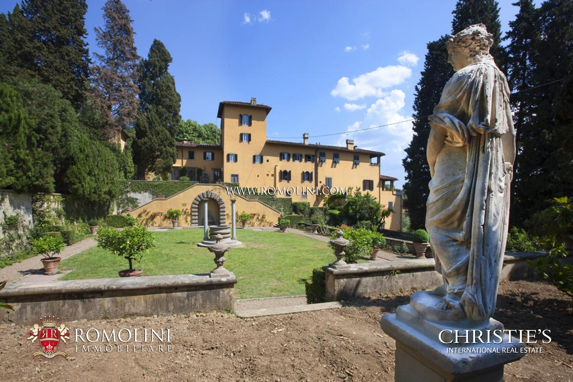 Appartements / Flats pour l Vente à Tuscany - APARTMENT IN HISTORIC VILLA FOR SALE IN FIESOLE, FLORENCE Fiesole, Italie