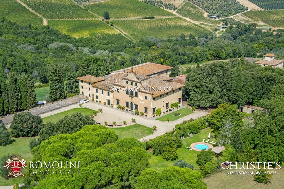 Vignoble pour l Vente à Tuscany - TUSCAN WINE ESTATE FOR SALE,CHIANTI COLLI FIORENTINI Florence, Italie