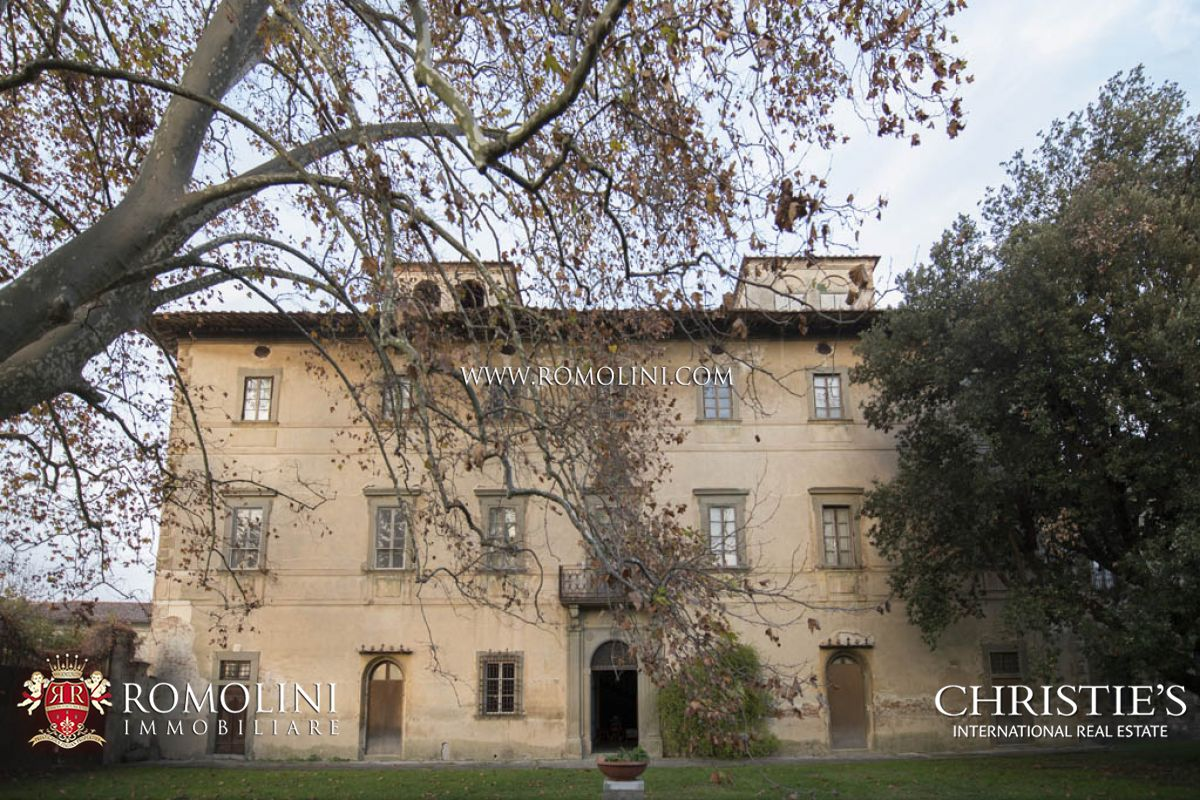Villas / Townhouses için Satış at Tuscany - HISTORIC VILLA FOR SALE IN PISA Cascina, Italya