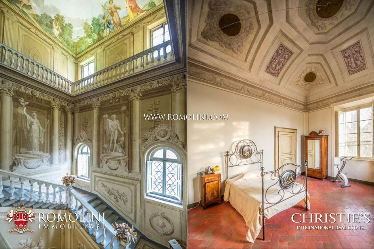 Additional photo for property listing at Tuscany - HISTORIC VILLA FOR SALE IN PISA Cascina, イタリア