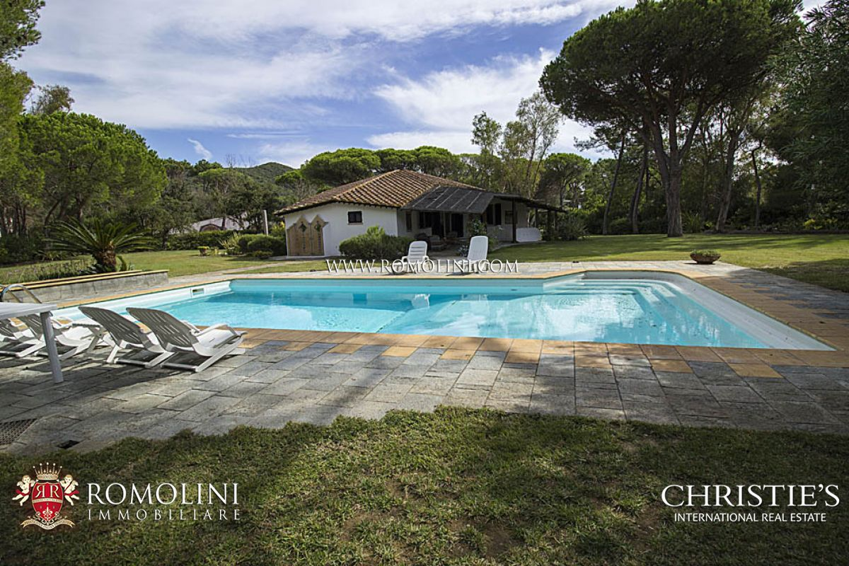 Villas / Townhouses for Sale at Tuscany - LUXURY VILLA FOR SALE IN PUNTA ALA Castiglione Della Pescaia, Italy