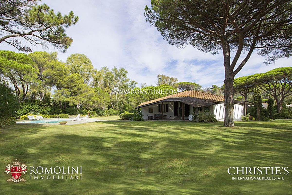Additional photo for property listing at Tuscany - LUXURY VILLA FOR SALE IN PUNTA ALA Castiglione Della Pescaia, Italia