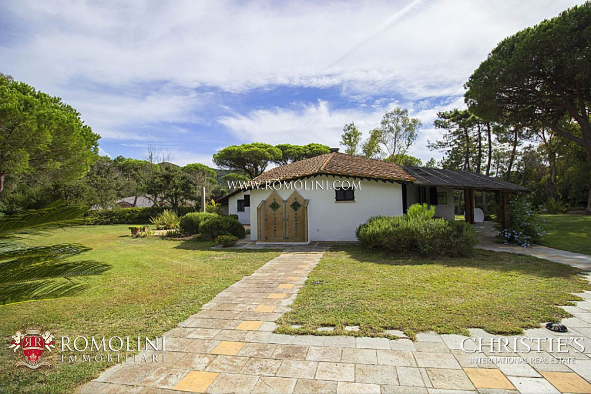 Additional photo for property listing at Tuscany - LUXURY VILLA FOR SALE IN PUNTA ALA Castiglione Della Pescaia, Italya