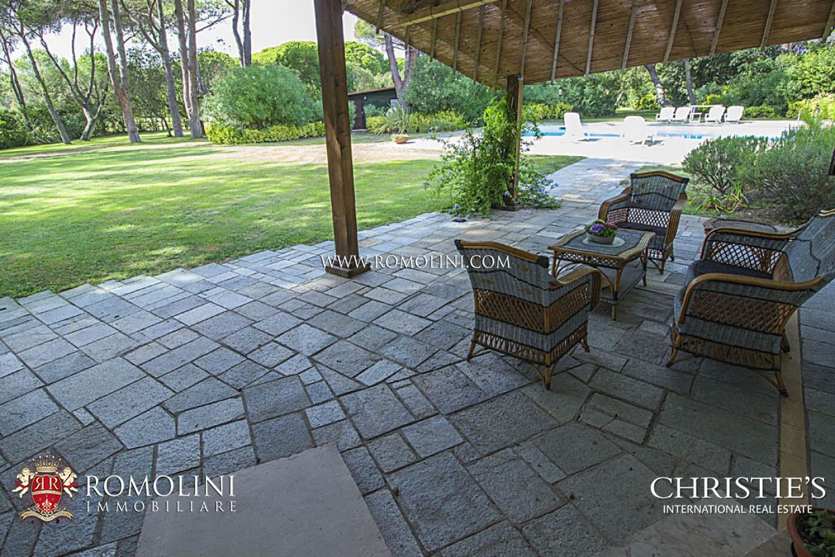 Additional photo for property listing at Tuscany - LUXURY VILLA FOR SALE IN PUNTA ALA Castiglione Della Pescaia, Itália